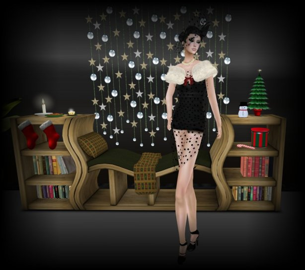 RNB Designs Xmas Library Bench_001