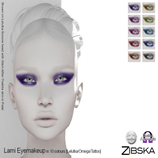 Zibska ~ Lami Eyemakeup