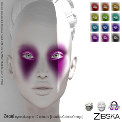 Zibska ~ Zebel Eyemakeup